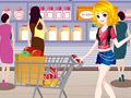 Игра Девушка в супермаркете