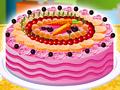Игра Украсьте фруктовый торт