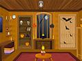 Игра Украшение комнаты на Хэллоуин