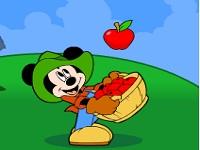Игра Яблочная плонтация Микки