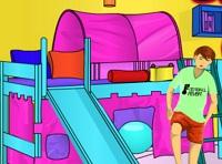 Игра Игра раскраска детской комнаты