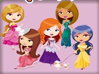 Игра Королевская мода раскраска