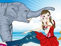 Игра Поцелуй слона