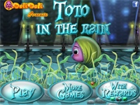 Игра Тото под дождём