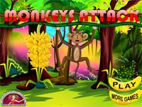 Игра Атака обезьян