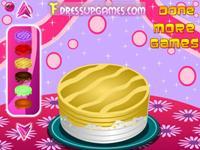 Игра Украшения торта на День Рождения