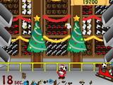 Игра Санта ловит Рождество
