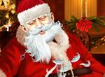 Игра Побрей Деда Мороза