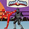 Игра Могучие рейнджеры против робота