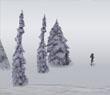 Игра Огромный снежок