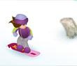 Игра Бетти сноубордистка