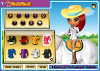 Игра Верховая езда Лизы