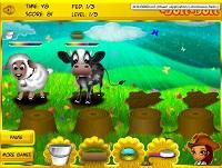 Игра Животные на Лизиной ферме