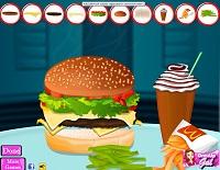 Игра Двойной чизбургер