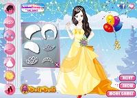 Игра Зимние свадебные платья