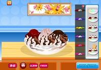 Игра Укрась мороженое