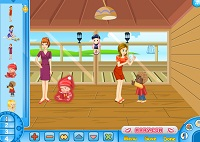 Игра Дети в отпуске